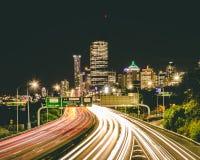 Route 2 de ville de Brisbane images libres de droits