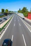 Route de ville de Vienne images libres de droits