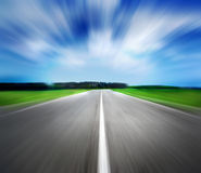 Route de vitesse Images stock