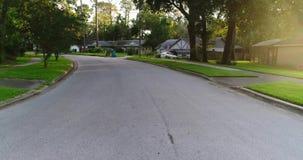 Route de voisinage banque de vidéos