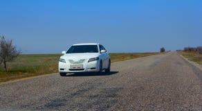 Route de voiture de route Photo stock
