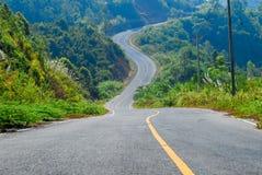 Route de voyage Photographie stock libre de droits