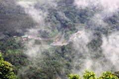 Route de Wayanad Ghat Image stock