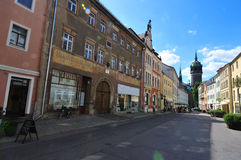 Route de Wittenberg Photographie stock libre de droits