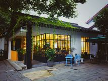 Route de yin de Ling à Hangzhou photo libre de droits