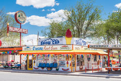 Route 66: Delgadillo's Snow Cap, Seligman, AZ Stock Images