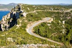 Free Route Des Crêtes. La Ciotat, France Royalty Free Stock Photos - 145494498