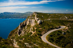 Route Des Cretes, France Royalty Free Stock Image