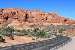 Route des Etats-Unis Photos stock