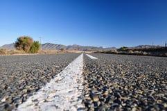Route 62 dichtbij Oudtshoorn - Zuid-Afrika Royalty-vrije Stock Foto's