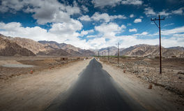 Route directe Image libre de droits