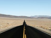 Route droite à risquer Photo libre de droits