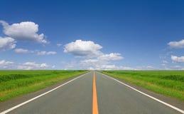 Route droite Image libre de droits