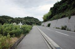Route droite Photo libre de droits