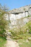 route du nord de malham de la crique II vers Yorkshire britannique photographie stock libre de droits