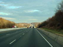 Route du nord-ouest 49 de Fayetteville, Arkansas, Arkansas Photographie stock libre de droits