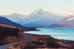Route du Nouvelle-Zélande Photographie stock