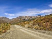Route du Yukon Image stock