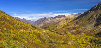 Route du Yukon-Nahanni Image stock