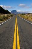 Route dure en avant Photographie stock libre de droits