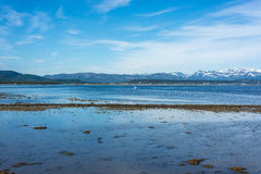 Route E69 in Finnmark, Northern Norway Royalty Free Stock Image