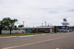 Route 66, el fantasma detrás de la leyenda fotos de archivo