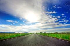 Route en avant Images libres de droits