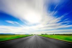 Route en avant Photographie stock libre de droits