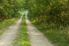 Route en bois Image libre de droits