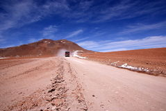 Route en Bolivie photo stock