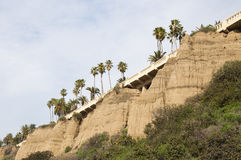 Route en Californie Images libres de droits