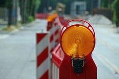 Route en construction image libre de droits