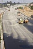 Route en construction Image stock