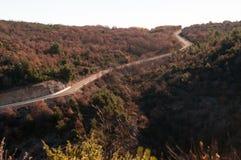 Route en Croatie Image libre de droits