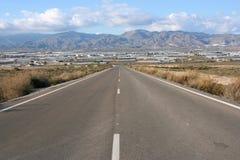 Route en Espagne photo stock