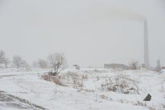Route en hiver Photo libre de droits