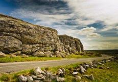 Route en Irlande photo libre de droits