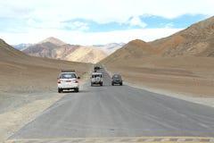 Route en montagne Photos libres de droits