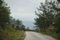 Route en montagne : Thaïlande Image libre de droits