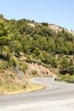 Route en montagnes de Pyrénées Images stock