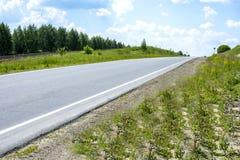 Route en nature Images stock
