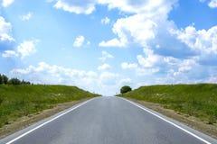 Route en nature Photographie stock libre de droits