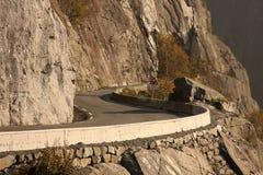 Route en Norvège Images libres de droits