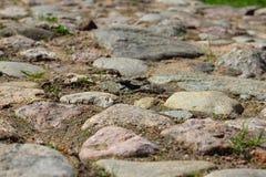 Route en pierre images libres de droits