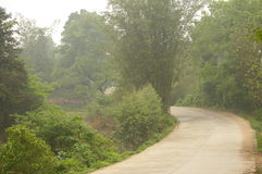 Route en regain Images stock