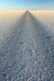 Route en Salar de Uyuni bolivia Image libre de droits