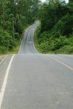 Route en stationnement national Photo libre de droits