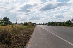 Route en Thaïlande Photographie stock