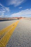 Route en Utah Photographie stock