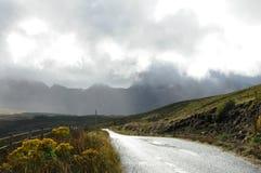 Route ensoleillée Photo stock